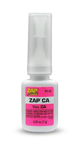 Pikaliima ZAP, Ohut, 7 g (Pinkki) (PT10)