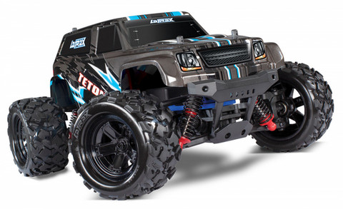 LaTrax Teton 1/18 4WD RTR Musta (76054-1BLK)