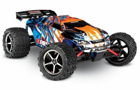 E-Revo 4WD 1/16 RTR TQ Oranssi (71054-1ORN)