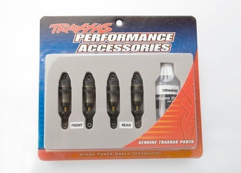 Shocks, GTR hard anodized (4kpl) (7061X)