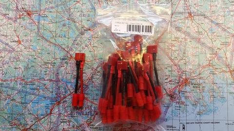 Adapterijohto Emax 3,5mm (uros/naaras) / T-liitin (naaras) 50mm (AD46737)