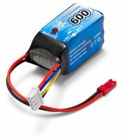 LiPo 600mAh 3S 11.1V 25C (JST-RCY) (LP0005F)