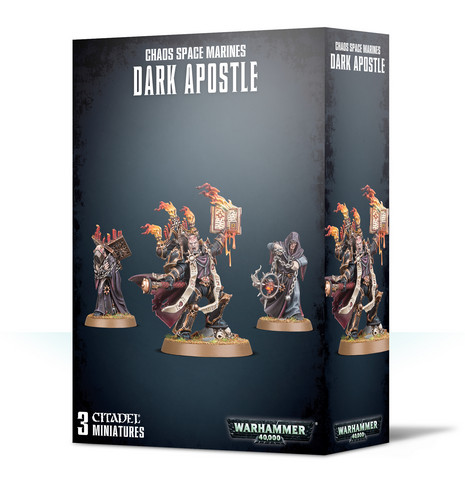 Chaos Space Marines Dark Apostle (43-37)