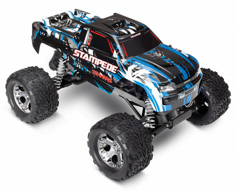 Stampede 2WD 1/10 RTR TQ Sininen with Battery & Charger (36054-1BLUEX)
