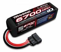 Li-Po Battery 6700 mAh 4S 14,8V 25C iD-liitin (Long) (2890X)