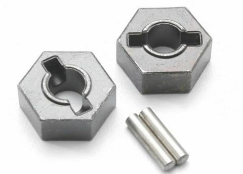 Wheel Hubs Hex 14mm Steel (2)