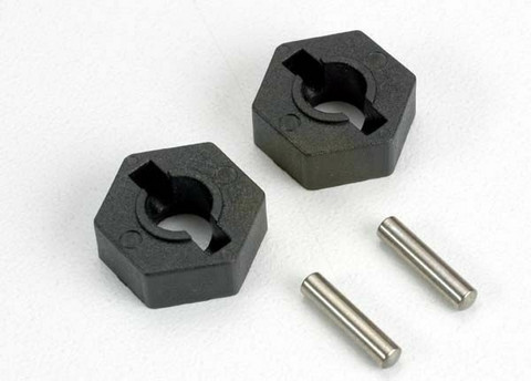 Wheel Hubs Hex 14mm nylon (2 kpl)