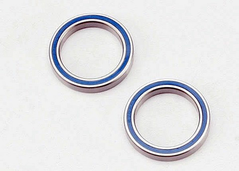 Ball bearing rubber (blue) sealed (20x27x4mm) (2) (5182)