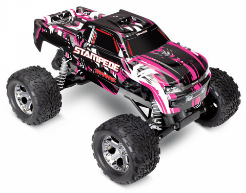 Stampede 2WD 1/10 RTR TQ Pinkki with Battery & Charger (36054-1PINKX)