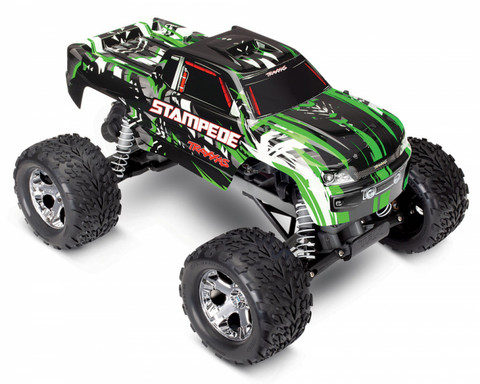 Stampede 2WD 1/10 RTR TQ Vihreä with Battery & Charger (36054-1GRN)