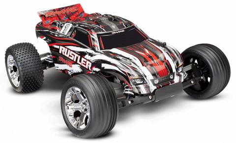 Rustler 2WD 1:10 RTR 2.4G TQ Punainen ei sis. akkua/laturia (37054-4RED)