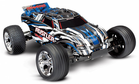 Rustler 2WD 1:10 RTR 2.4G TQ Sininen ei sis. akkua/laturia (37054-4BLUE)