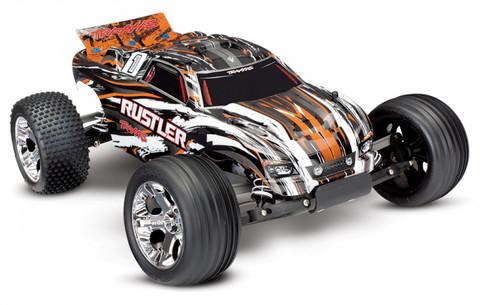 Rustler 2WD 1:10 RTR 2.4G TQ Oranssi ei sis. akkua/laturia (37054-4OR)