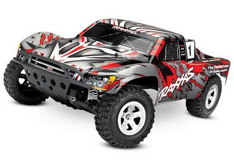 Slash 2WD 1/10 RTR TQ Punainen w/o Battery  (58024RED)