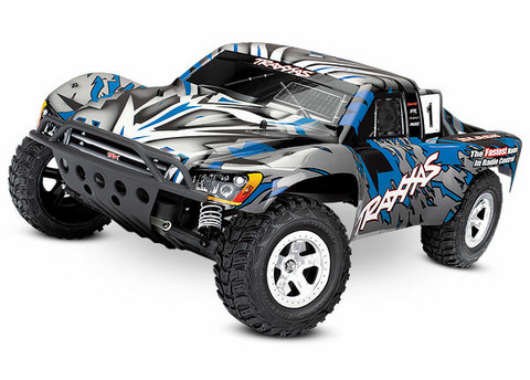 Slash 2WD 1/10 RTR TQ Sininen w/o Battery  (58024BLUE)