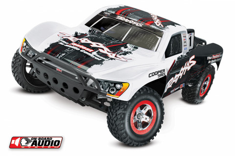 Slash 2WD 1/10 RTR TQ OBA Valkoinen with Battery & Charger (58034-2WHT)
