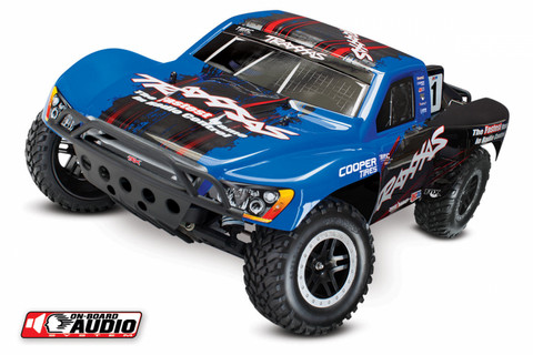 Slash 2WD 1/10 RTR TQ OBA Sininen with Battery & Charger (58034-2BLU)