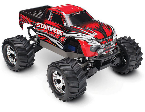 Stampede 4x4 1/10 RTR TQ Punainen (67054-1RED)