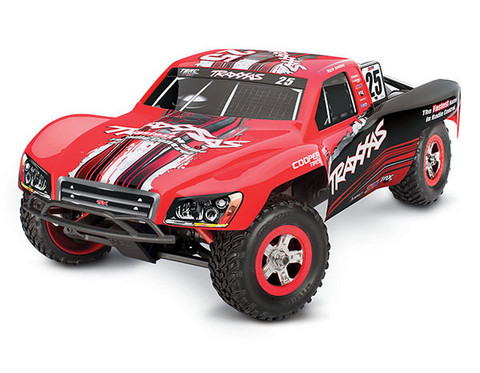 Slash 4x4 1/16 RTR TQ Punainen - With Batt/Charger (70054-1RED)