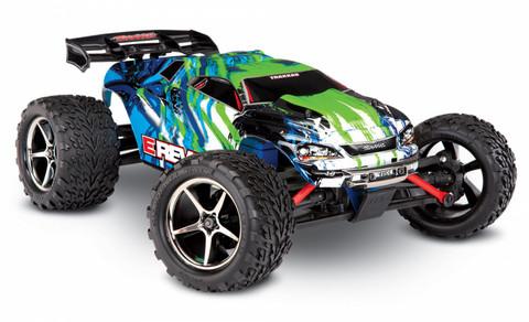 E-Revo 4WD 1/16 RTR TQ Vihreä (71054-1GRN)