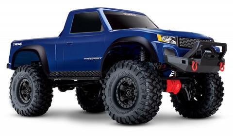 TRX4 Sport Scale Crawler Truck 4x4 Truck 1:10 Sininen RTR ei sis akkua/laturia (82024-4BLUE)