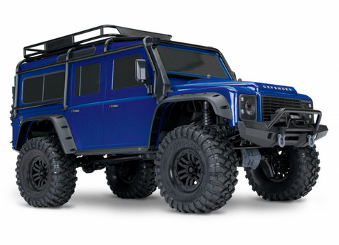 Traxxas TRX-4 Scale Crawler Land Rover Defender D 110 RTR Sininen (82056-4BLU)