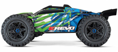 E-REVO Brushless 4WD TQi TSM Vihreä (ei sis. laturia/akkua) (86086-4GRN)