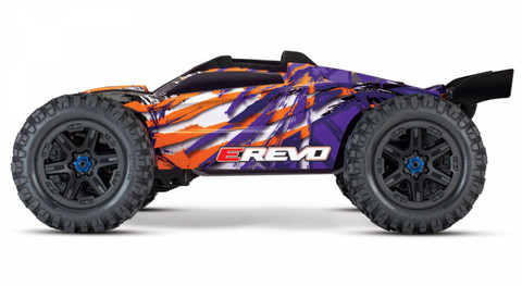 E-REVO Brushless 4WD TQi TSM Violetti (ei sis. laturia/akkua) (86086-4PPL)