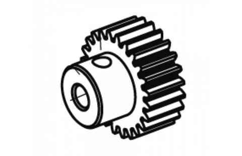 Motor gear 22Z. 48DP Tiger BL 3,17mm