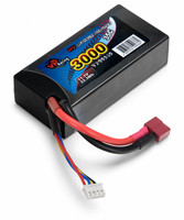 LiPo 3000mAh 3S 11,1V 35C Hardcase (T-liitin) (VP99369)