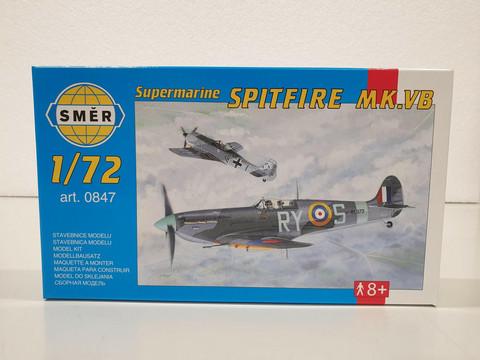 Supermarine Spitfire MK.VB 1:72 (Smer)