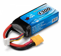 LiPo 1300mAh 3S 11,1V 30C (XT60-Liitin) (LP014FXT)