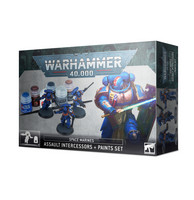 Space Marines Assault Intercessors + Paint Set (60-11)