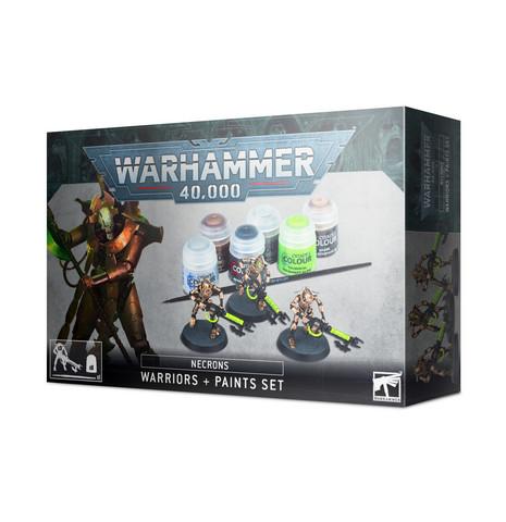 Necrons Warriors + Paint Set (60-69)