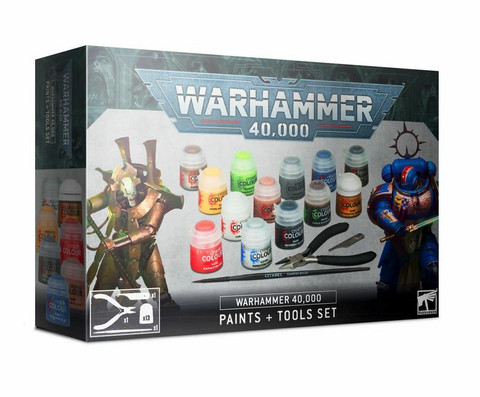Warhammer 40,000 Paints + Tools Set (60-12)