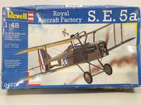 Royal Aircraft Factory S. E. 5a 1:48 (Revell)