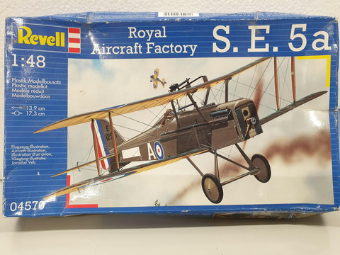 Royal Aircraft Factory S. E. 5a 1:48 (Revell)