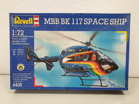 MBB BK 117 Space Ship 1:72 (Revell)