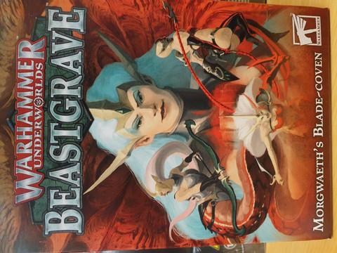 WH Underworlds - Beastgrave Morgweath´s Blade-coven (110-89-60)