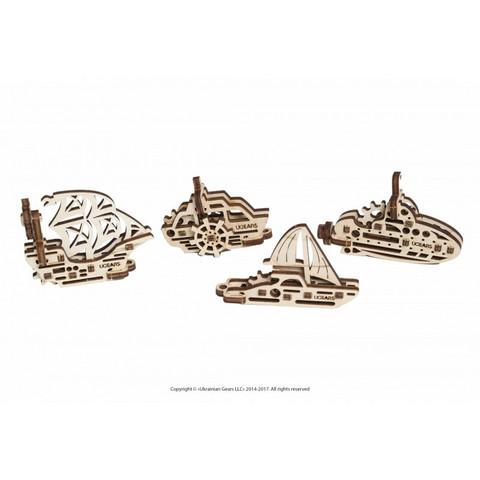 UGEARS laivat, 4 mallia