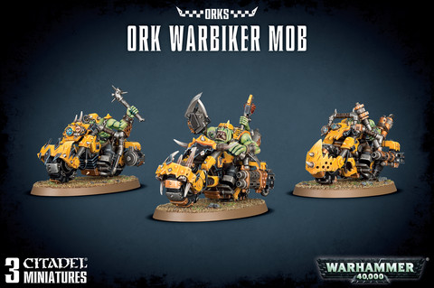 Ork Warbiker Mob (50-07)