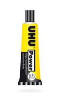 UHU Power 45ml, vahva läpinäkyvä yleisliima