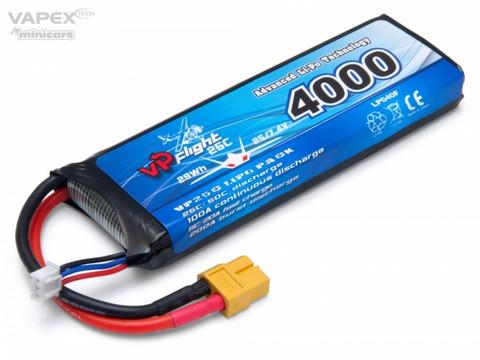 LiPo 4000mAh 2S 7,4V 25C (XT-60) (LP040FXT)