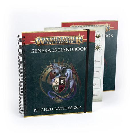 Warhammer Age of Sigmar - General's Handbook - Pitched Battles 2021 (80-18)