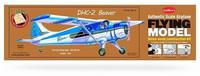 DHC-2 Beaver kumimoottorilennokki, rakennussarja, laser leikattu
