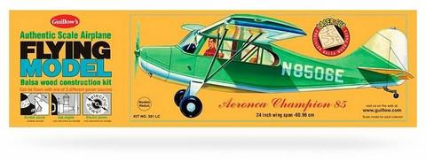Aeronca Champion 85 kumimoottorilennokki, rakennussarja, laser leikattu