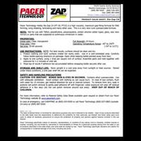 Pikaliima ZAP, Ohut, 28 g (Pinkki) (PT08)