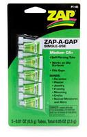 Pikaliima ZAP, Medium, 5 x 0,5 g (Vihreä) (PT105)