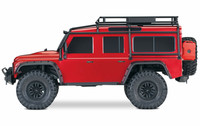 Traxxas TRX-4 Scale Crawler Land Rover Defender D 110 RTR Punainen (82056-4RED)