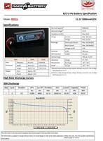 Vapex 5000mAh Lipo 11,1V 25C (TRX)